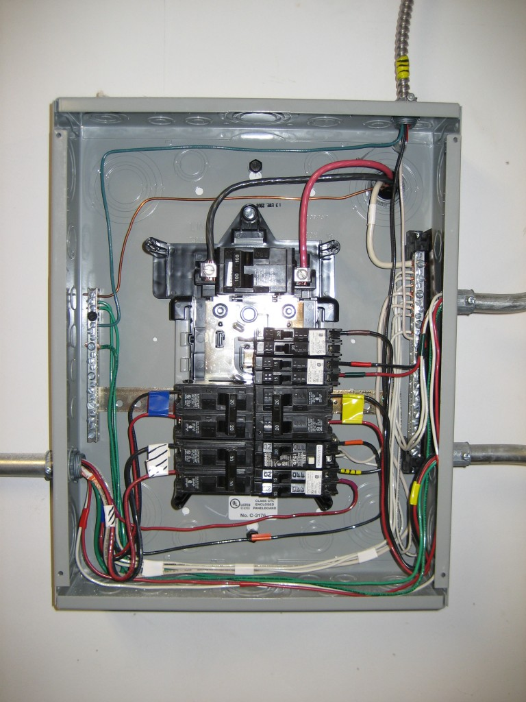 wiring neutral bus bar solidfonts wiring a breaker box diagram neutral and ground bus mixed terry love plumbing remodel diy
