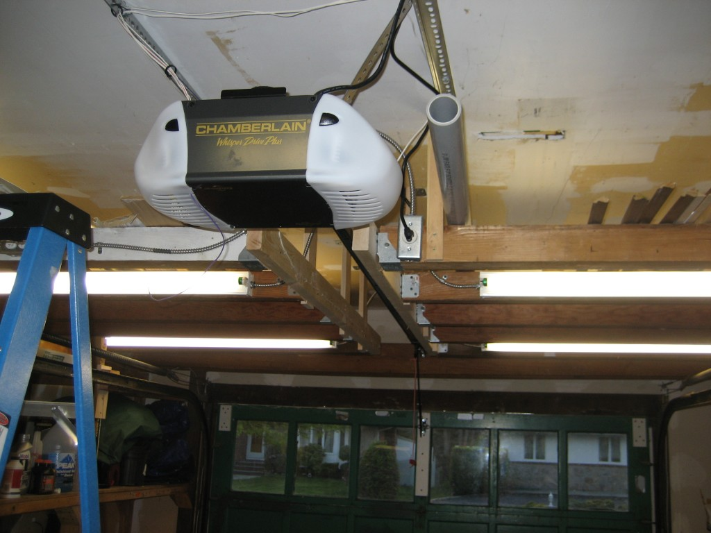 stupid ceiling ideas - Stupid Angering Garage Door Opener Project ScottDotDot