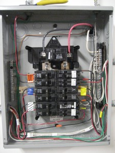 Voltec Installation - Breaker panel
