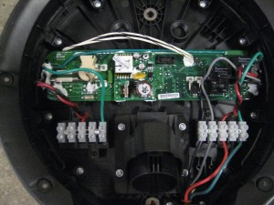 Voltec Installation - Charger internal view