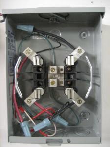 Voltec Installation - Meter wiring