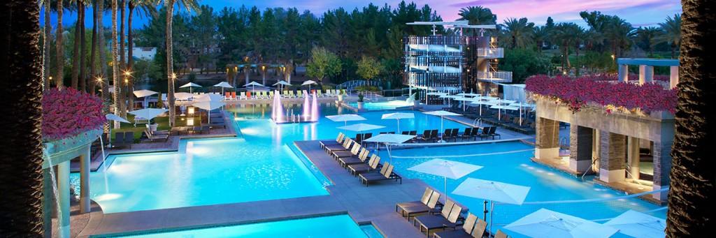 The Pool at the Hyatt Regency Scottsdale