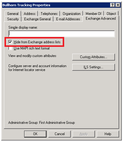 how to create a noreply email address in exchange