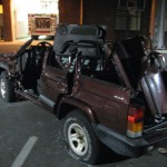 Jeep XJ Destroyed - 04