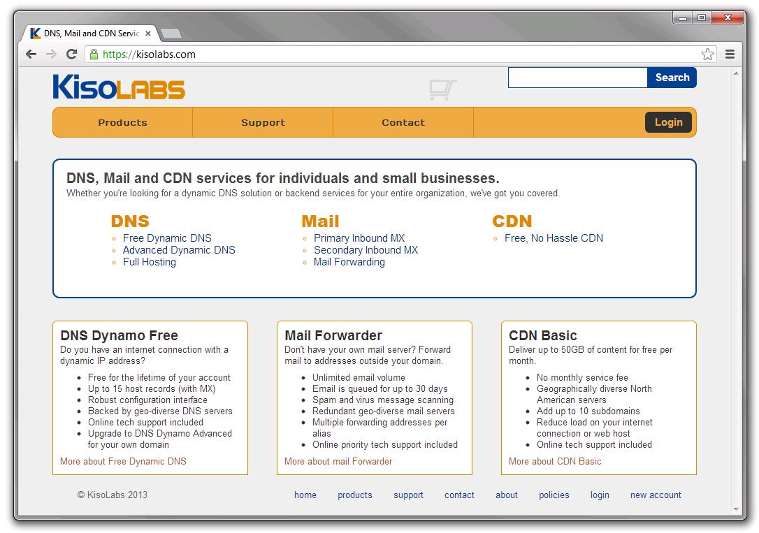 KisoLabs Homepage