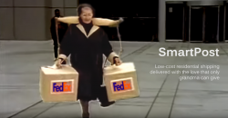 FedEx SmartPost Logo - Grandma Delivers Packages with Tracking