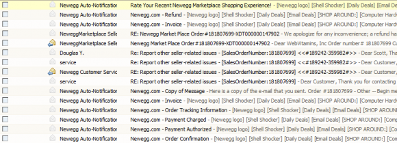Newegg - Enough with the emails already
