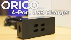 ORICO 4-Port USB Charger - Cover Image