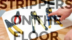 Strippers on the Floor - VISE-GRIP Wire Strippers and Knock-off Version - Featured Image