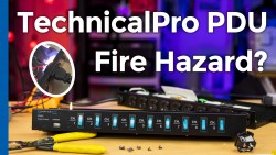 Technical Pro PS9U Fire Hazard vs. Cyberpower CPS-1220RMS PDU - Cover Image
