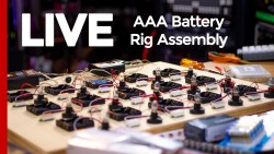Building a AAA Battery Test Rig (Live Stream) - Cover Image